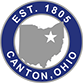 City of Canton Ohio Established 1805 logo