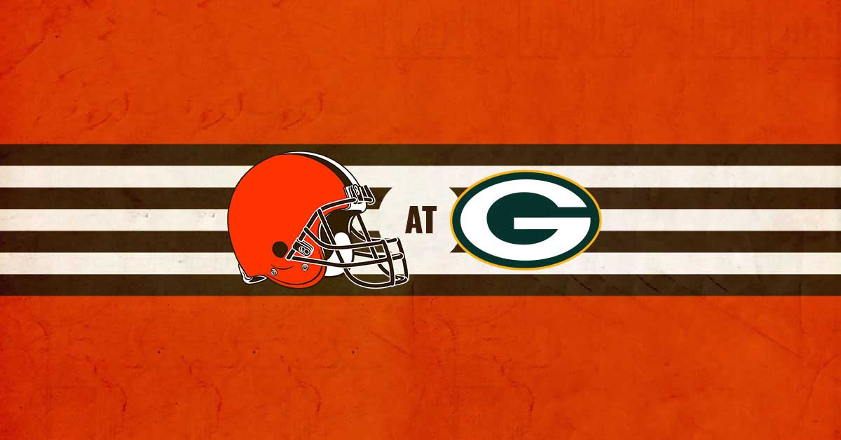 Cleveland Browns vs Green Bay Packers