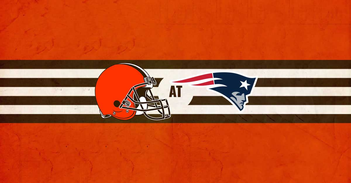 Cleveland Browns vs New England Patriots