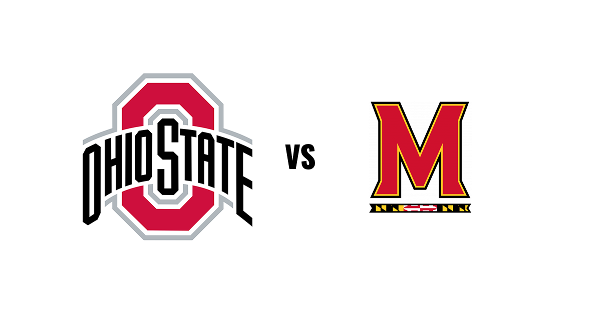 The Ohio State Buckeyes take on the Maryland Terrapins