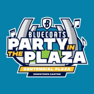 Bluecoats Party in the Plaza