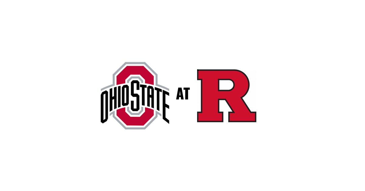 The Ohio State Buckeyes take on the Rutgers Scarlet Knights