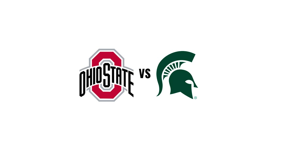 The Ohio State Buckeyes take on the Michigan State Spartans
