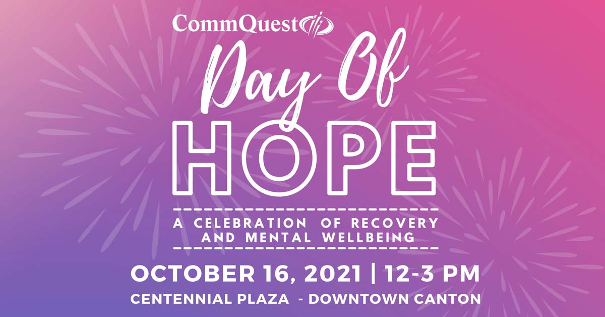 CommQuest Day of Hope - A Celebration of Recovery and Mental Wellbeing at Centennial Plaza